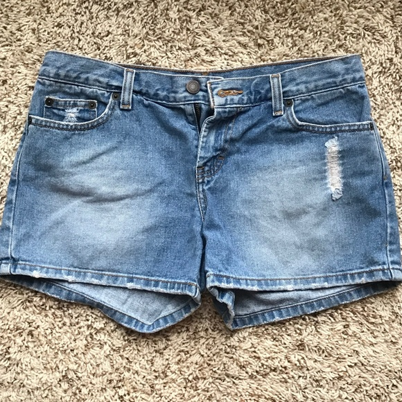 American Eagle Outfitters Pants - AE Distressed Jean Shorts